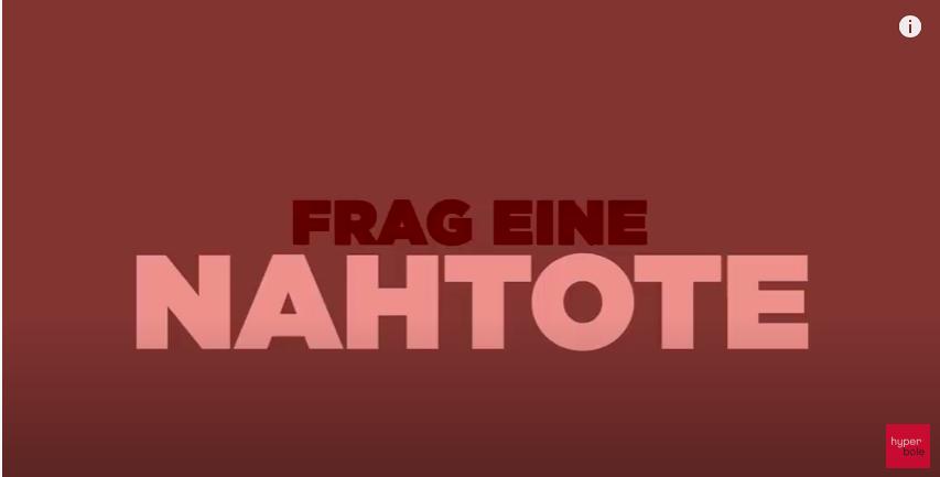 Frag Eine Nahtote – Ein Interview Bei Hyperbole Am 21. Mai 2020